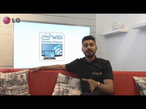LG Smart TV - WiDi