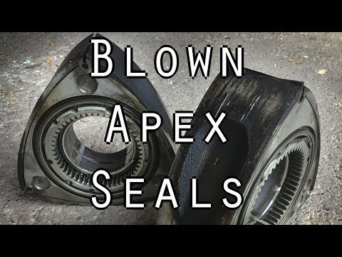 How To Tell If Your Apex Seals Are Blown In Your Rotary Engine