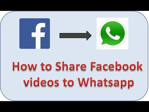 How to Share Facebook Videos to Whatsapp