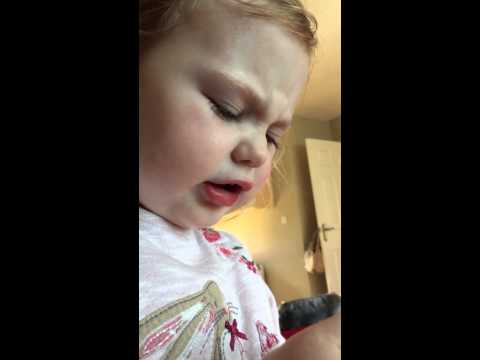 Funny Kid Talks about drinking vomit, Cinderella and the Queen all in one conversation!