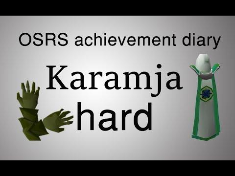 [OSRS] Karamja hard diary