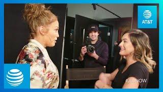 Jennifer Lopez SURPRISES SUPERFAN Chachi Gonzales   #JLoNOW   AT&T