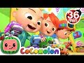 The Car Color Song More Nursery Rhymes Kids Songs CoCoMelon