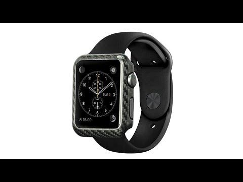 Simply Carbon Fiber Apple Watch Case
