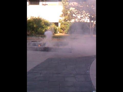 Sodium chloride explosion