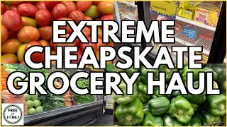 😱How to Eat for $10 a Week!?🚨(Extreme) Emergency Budget Food Shopping Grocery Haul