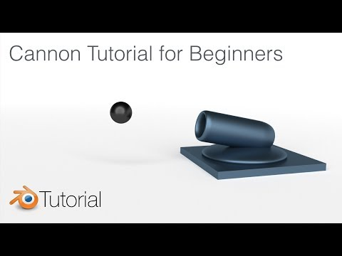 Blender Tutorial: Cannon Animation For Beginners (REMASTERED)