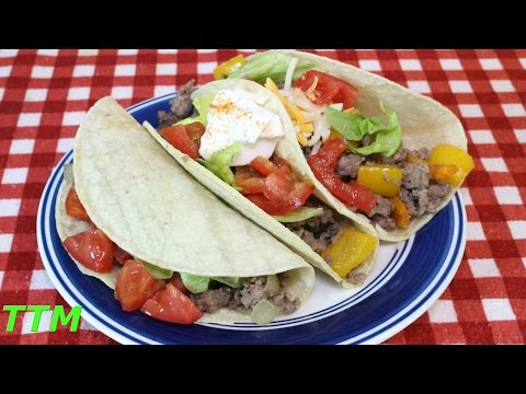 Tatonka Tacos~Easy and Healthy Ground Bison Taco Recipe