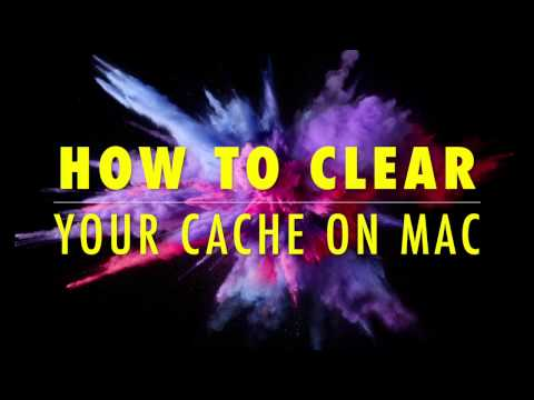 How To Clear Your Cache On a Mac (YouTube Video Tutorial)