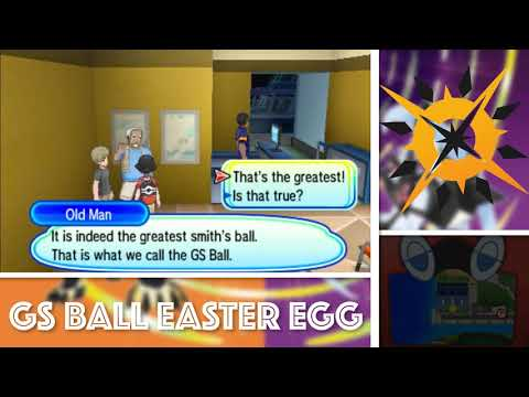 GS BALL EASTER EGG! // Pokémon Ultra Sun Highlights