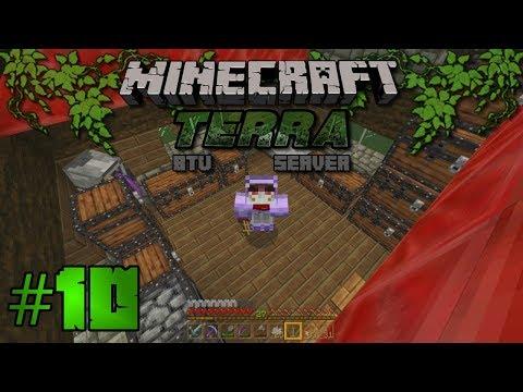 Let's Play Terra BTU Server - Ep10 - Minecraft Bedrock