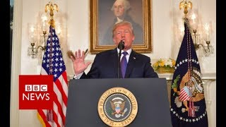 Trump: Syria strikes to deter chemical weapons use - BBC News