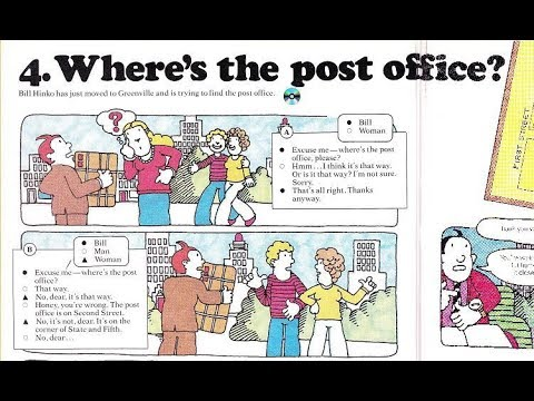 Learn Real English - Asking Directions - Post Office & Traffic Jam!