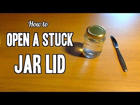 Life Hack #7   Open A Stuck Jar Lid