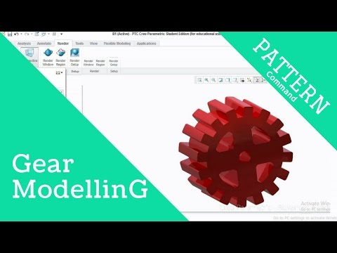 Gear Design in Creo Parametric