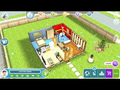 The Sims Freeplay - Need For steed / Encourage Sim
