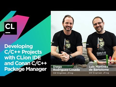 Developing C/C++ Projects with CLion IDE and Conan C/C++ Package Manager