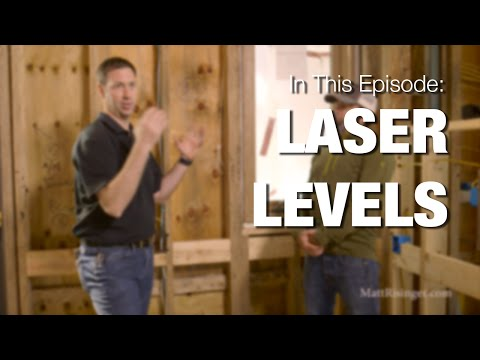 Laser Levels - Framing & Remodeling use tips