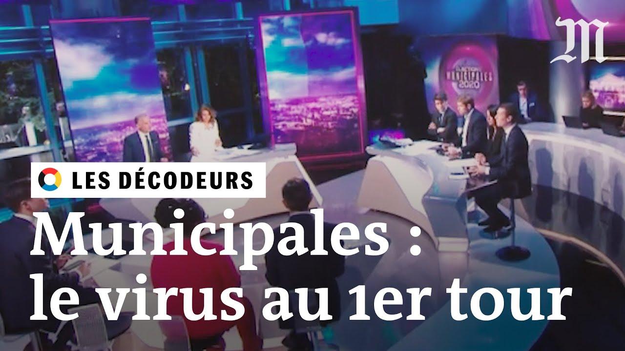 Municipales et coronavirus : le résumé de la soirée électorale du premier tour