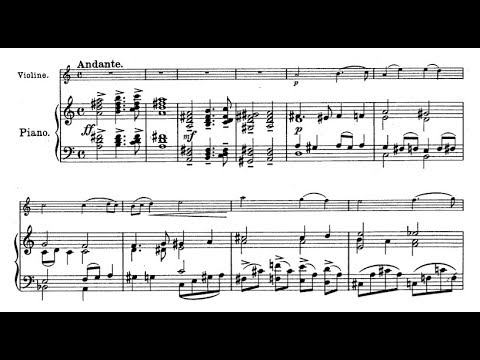 Franz von Vecsey - 3 Morceaux for violin and piano (audio + sheet music)