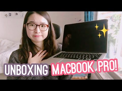 Macbook Pro Retina (2015) Unboxing!
