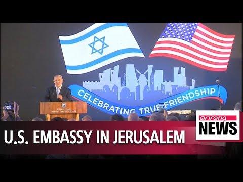 U.S. delegation arrives in Jerusalem ahead of embassy move