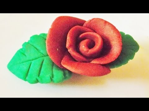 How To Make Rose | Clay Modeling Rose Flower | Clay Art Tutorial | Clay Rose | Clay Tutorial