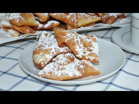 Carnival Ears (Spanish Dessert) - Easy Fried Dough Dessert Recipe