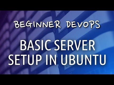 Beginner DevOps - Basic Server Setup in Ubuntu