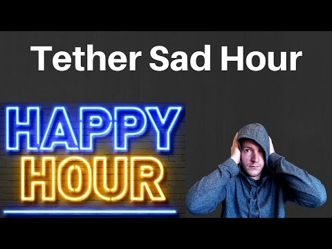 Tether/Bitfinex Brings Crypto Down - Crypto Sad Hour - January 30th Edition