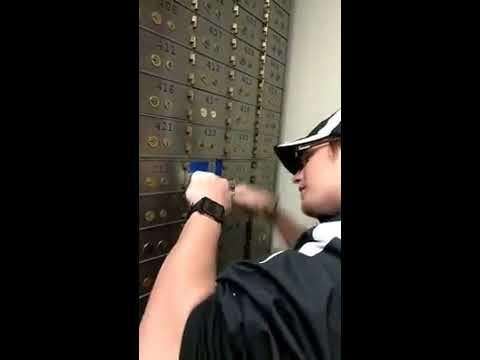 Key Man Lock & Safe Company Drilling Safe Deposit Boxes