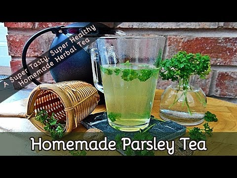 How to Make Parsley Tea Using Fresh or Dried Parsley Leaves (Slideshow)