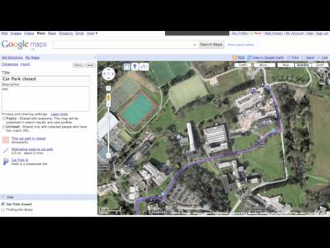 Making a Google Map Overlay