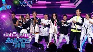 "DAHSYATNYA AWARDS 2018   Sheryl feat. Rizky & Chandra Liow ""Sweet Talk""  [25 Januari 2018]"