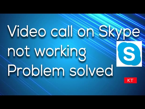 Skype not showing video call option in iPhone | Skype camera not working in iPhone Fixed