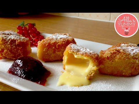 How to make Fried Cheese balls - Рецепт жареных сырных шариков