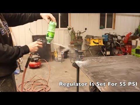 DIY Sandblaster For Under $6.00