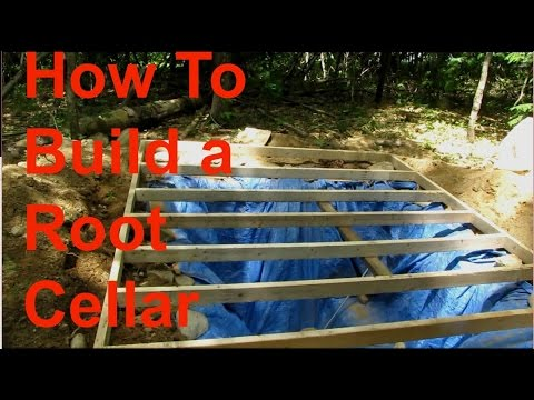 How to Build a Root Cellar Part 4