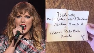 Taylor Swift TEASES New Music Video for THIS Song