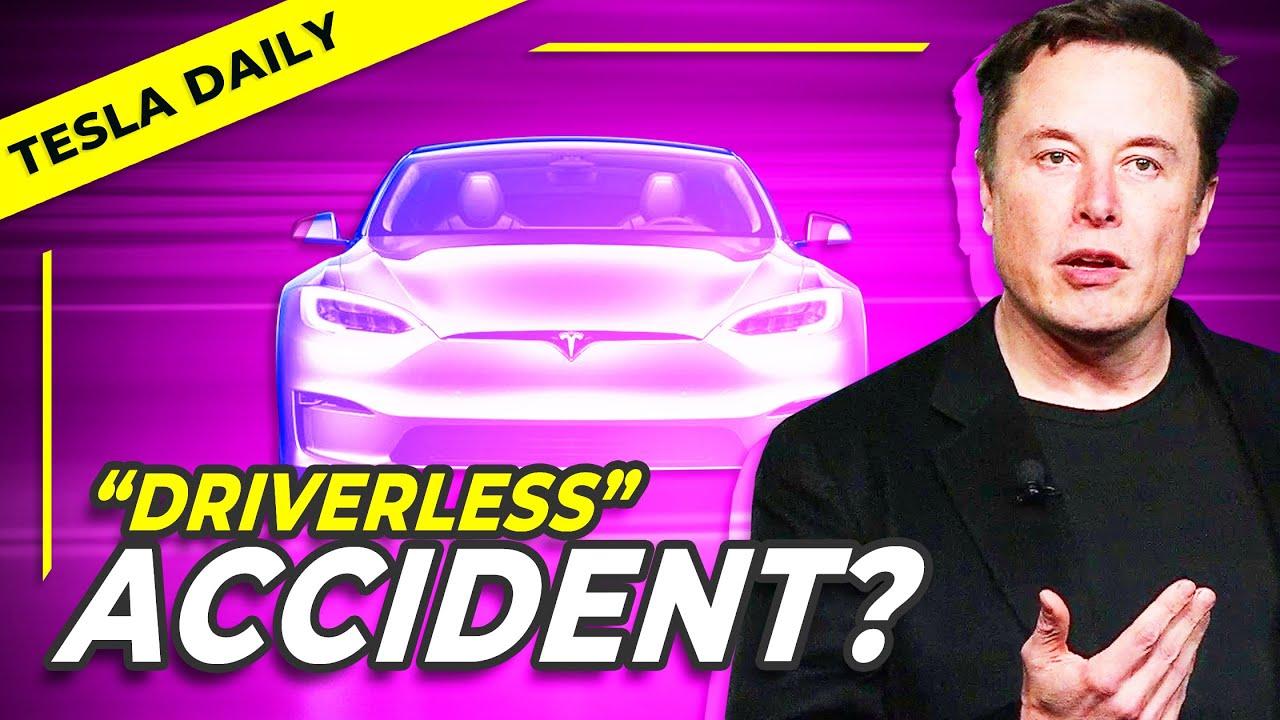"Tesla Crash Unlikely ""Driverless"" Despite Reports + Tesla Safety Report, Shanghai Auto Show"