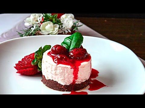 How to Make No- Bake Mini Strawberry Nutella Cheesecake