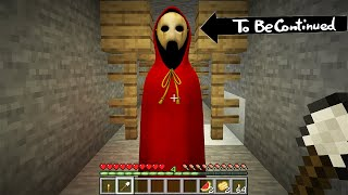 I FOUND scary SOMETHING in MINECRAFT - To Be Continued