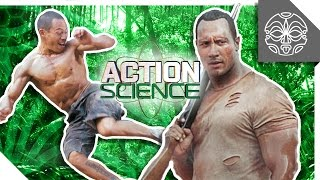 "ACTION SCIENCE: The Rock vs. an Entire Army in ""The Rundown"""
