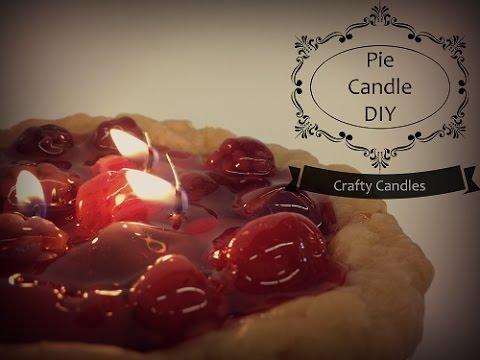 Pie Candle DIY | Crafty Candles Canada