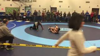 Wrestling- Sectionals 2018 round 1