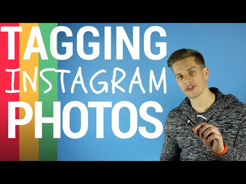 How To Tag people in existing Photo's on Instagram