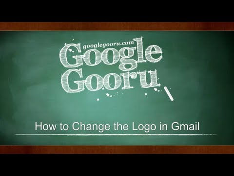 How to change the logo in Gmail