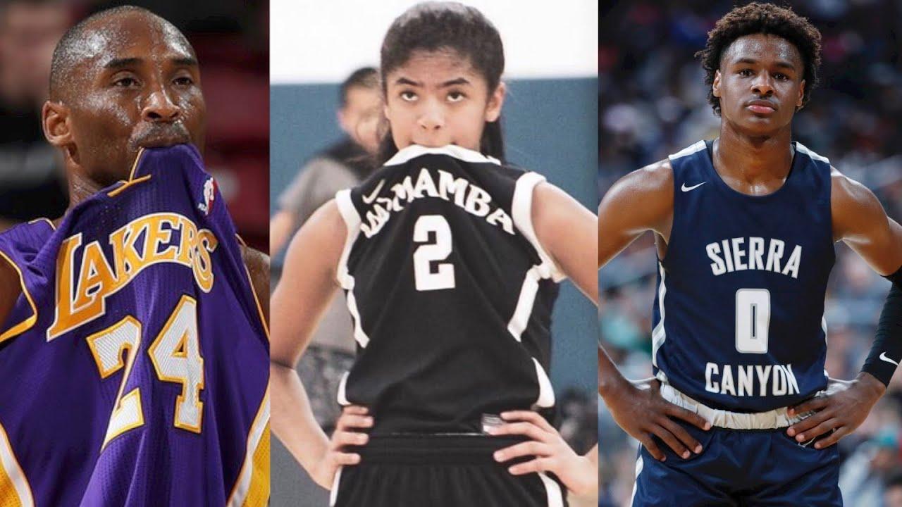 Legendary NBA Players' Kids! LeBron, Steph, Kobe & More!