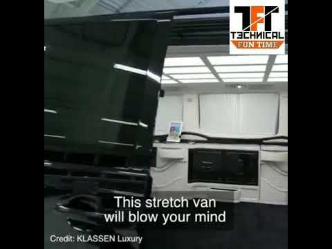van transforms into a luxury limo, van transforms into a luxury limo price