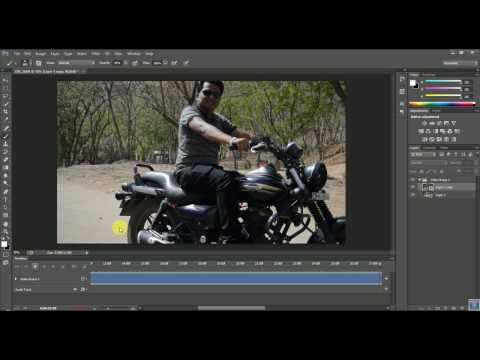 How to Edit VIDEO'S SLOW MOTION  In PHOTOSHOP CC & CS6